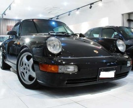 1991 Porsche 911 (964) Carrera 4, black and sexy!