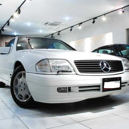1997 Mercedes Benz SL500, only 7,400kms!
