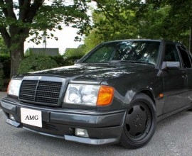 1989 Mercedes Benz 300E 6.0 AMG M117 engine!