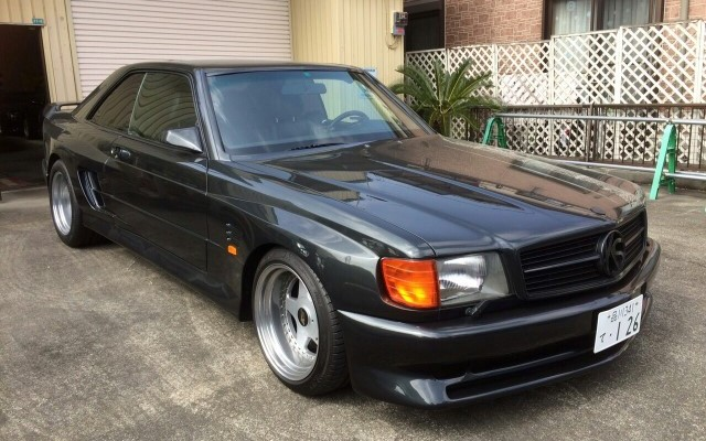 1990 mercedes benz 560sec koenig specials supercharged for Mercedes benz special deals