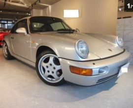 1990 Porsche 964, manual trans, only 57,000km!