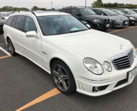 2007 Mercedes Benz E63 AMG wagon
