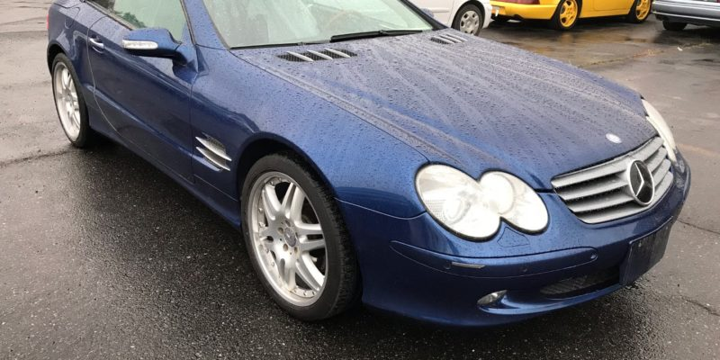 2003 Mercedes Benz SL500, panorama roof!